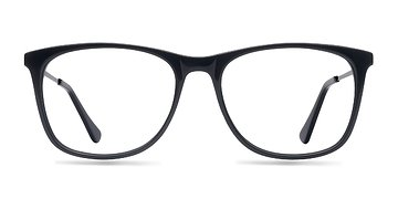 Black Contrast -  Acetate Eyeglasses