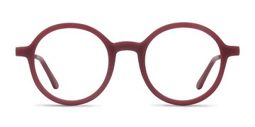 Matte Burgundy Potter -  Metal Eyeglasses