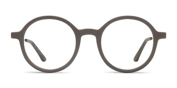 Matte Green Potter -  Classic Metal Eyeglasses