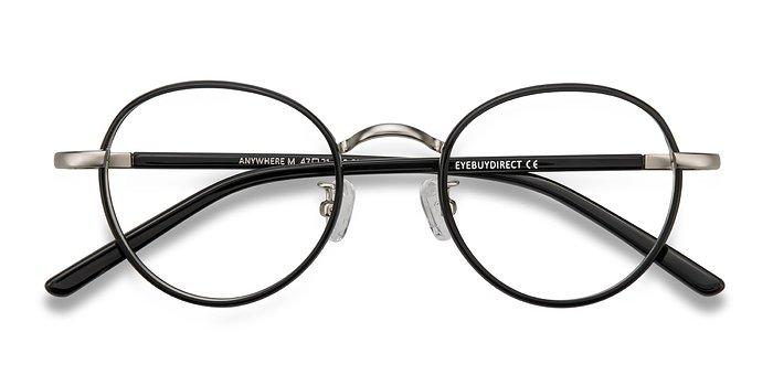 Black Anywhere -  Acetate Eyeglasses