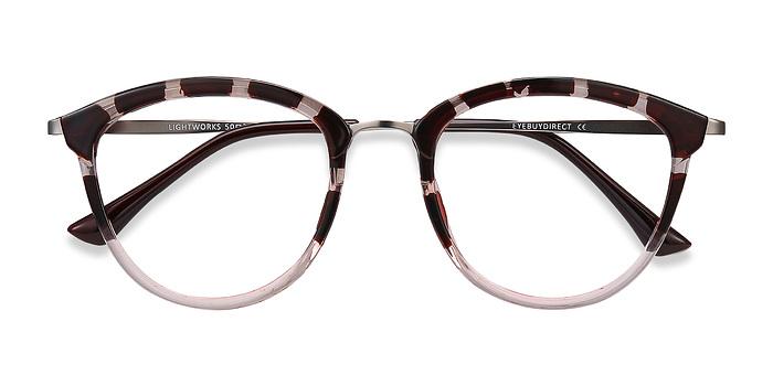 Pink Floral Lightworks -  Metal Eyeglasses