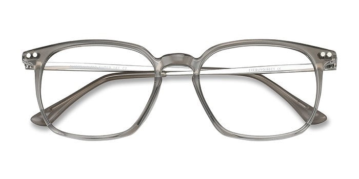 Gray Ghostwriter -  Metal Eyeglasses
