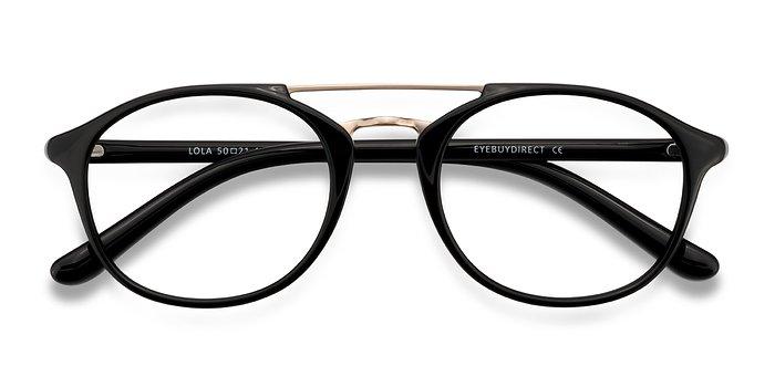 Black Lola -  Metal Eyeglasses