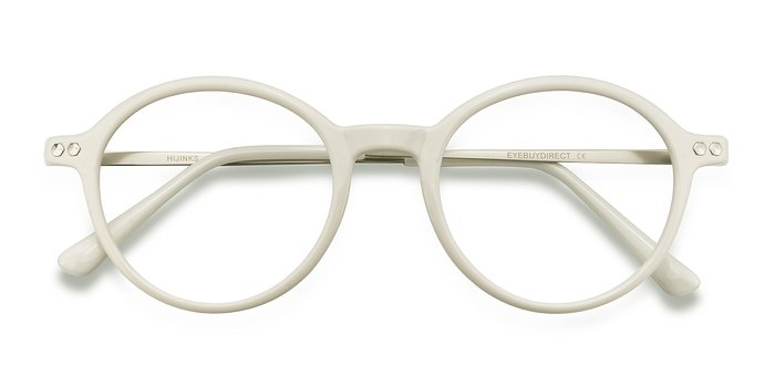 White Hijinks -  Plastic Eyeglasses