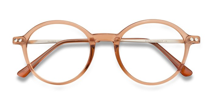 Cinnamon Hijinks -  Metal Eyeglasses