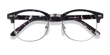 Floral Roots -  Vintage Metal Eyeglasses