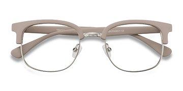 Gray Yokote -  Vintage Metal Eyeglasses
