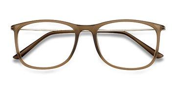 Matte Cinnamon Hurricane -  Metal Eyeglasses
