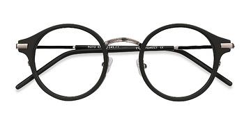 Black Roto -  Acetate Eyeglasses