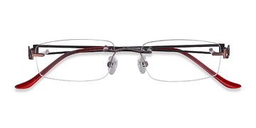 Brown Ottawa -  Metal Eyeglasses