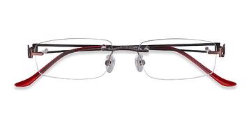 Brown Ottawa -  Metal Eyeglasses