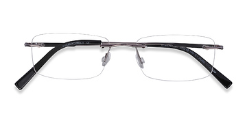 Gunmetal Dimension -  Titanium Eyeglasses