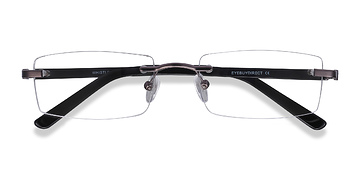 Gunmetal Whistle -  Metal Eyeglasses