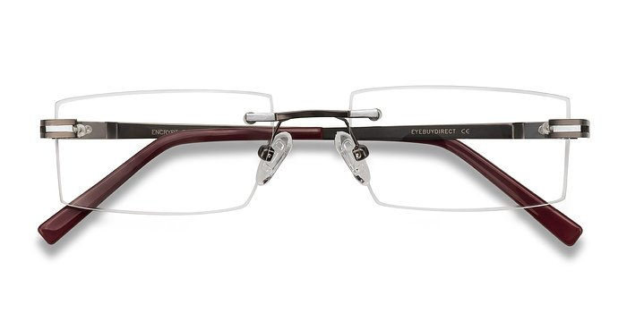 Gunmetal, black  Encrypt -  Metal Eyeglasses