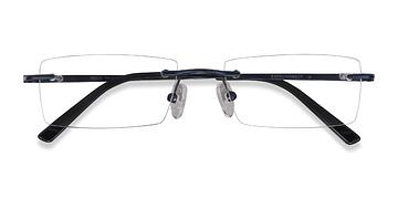 Blue Regis -  Metal Eyeglasses