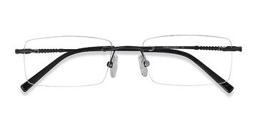 Black Earl -  Metal Eyeglasses