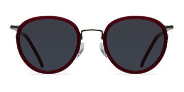 Red Siena -  Acetate Sunglasses