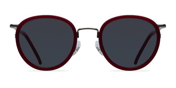 Siena prescription sunglasses (Red)