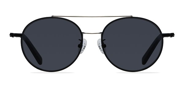 Hendrix prescription sunglasses (Black/Silver)