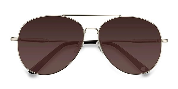 Camp prescription sunglasses ( Matte Silver )
