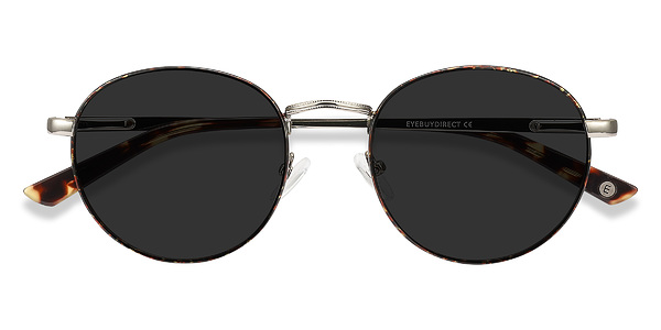 Saigon prescription sunglasses (Tortoise Silver)