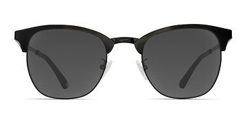 Black Veil -  Metal Sunglasses