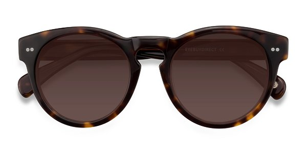 Penelope prescription sunglasses (Brown/Tortoise)