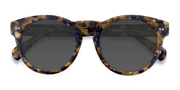 Penelope prescription sunglasses (Blue/Tortoise)