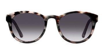 Gray/Brown Coppola -  Plastic Sunglasses