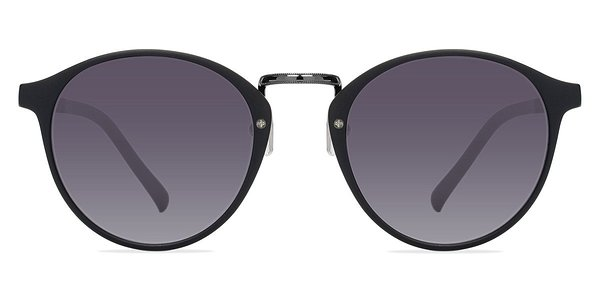 Millenium prescription sunglasses (Matte Black)