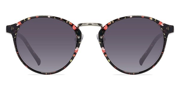 Millenium prescription sunglasses (Red/Floral)