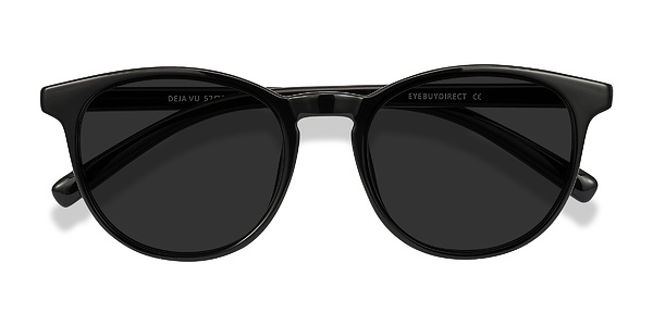 Deja vu prescription sunglasses (Black)