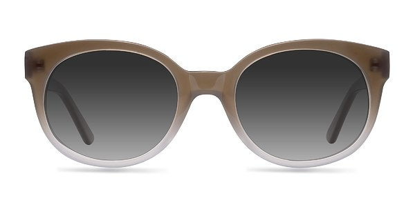 Matilda prescription sunglasses (Brown)