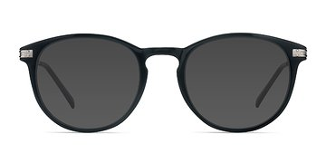 Black Monroe L -  Metal Sunglasses