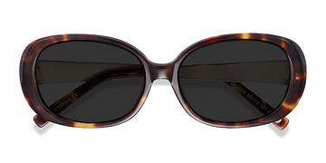 Tortoise Lauren -  Acetate Sunglasses