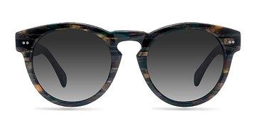 Tribal Green Penelope -  Acetate Sunglasses