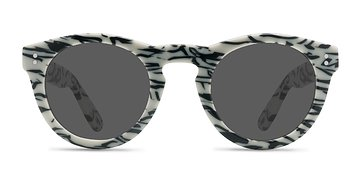 White Black Ibiza -  Acetate Sunglasses