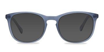 Matte Navy Audio -  Acetate Sunglasses