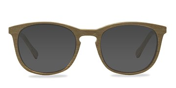 Yellow Audio -  Wood Texture Sunglasses