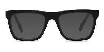 Matte Black Virtual -  Acetate Sunglasses
