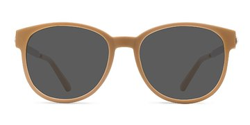 Matte Orange Terracotta -  Metal Sunglasses