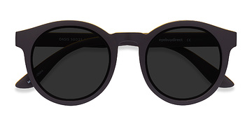Matte Coffee Oasis -  Plastic Sunglasses