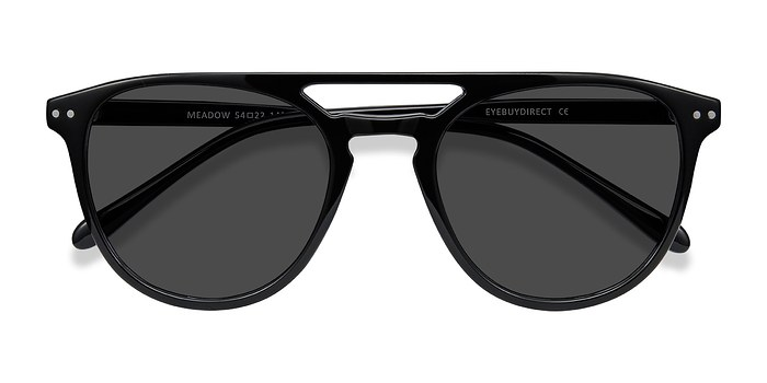 Black Meadow -  Plastic Sunglasses