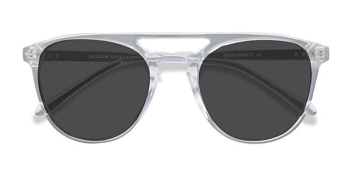 Clear Meadow -  Plastic Sunglasses