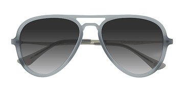Matte Gray Riot -  Acetate Sunglasses