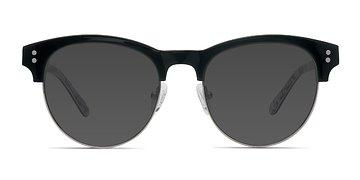 Black Floral College -  Acetate Sunglasses