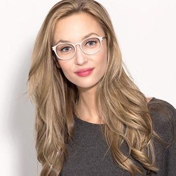 Faded Rose New Bedford -  Fashion Acetate Eyeglasses - model image