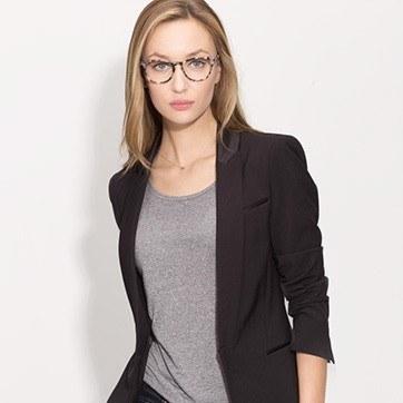 Ivory Tortoise Notting Hill M -  Fashion Acetate Eyeglasses - model image