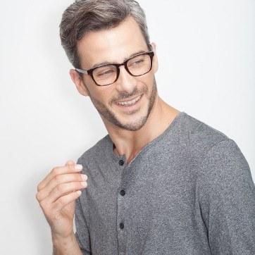 Tortoise Berlingot -  Fashion Acetate Eyeglasses - model image