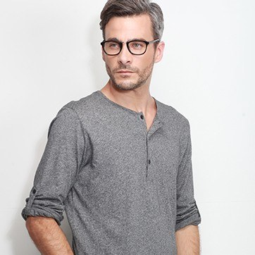 Black Tomorrow -  Acetate Eyeglasses - model image